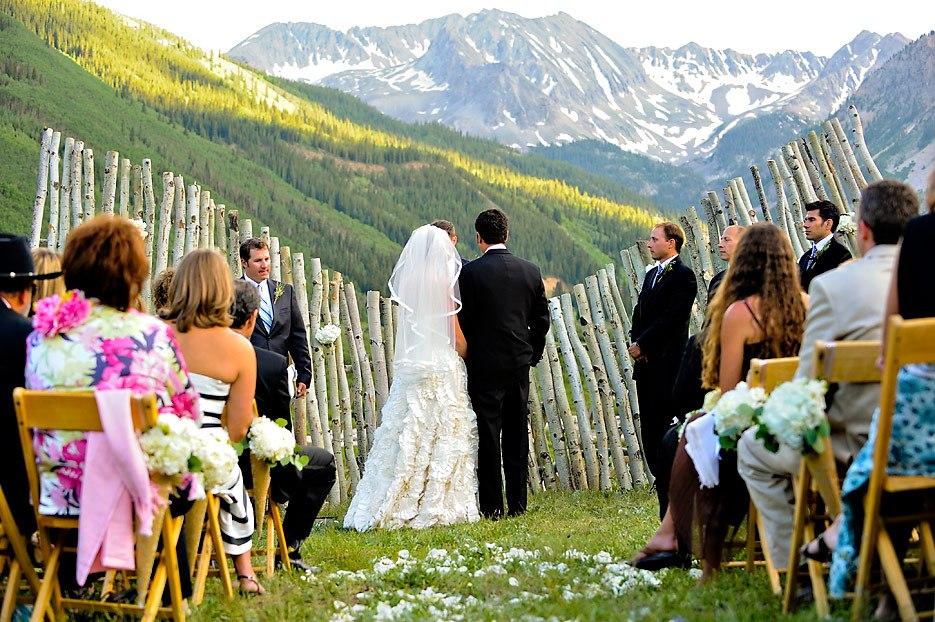 Преимущества проведения свадьбы на природе