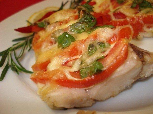 Рыба по французски