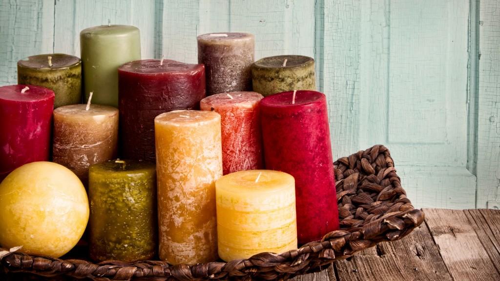 Как сделать красивую свечку своими руками