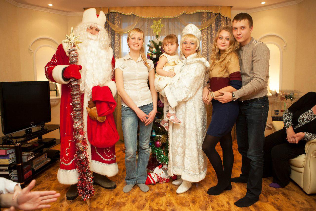 Сценарий нового года для поздравления детей на дому