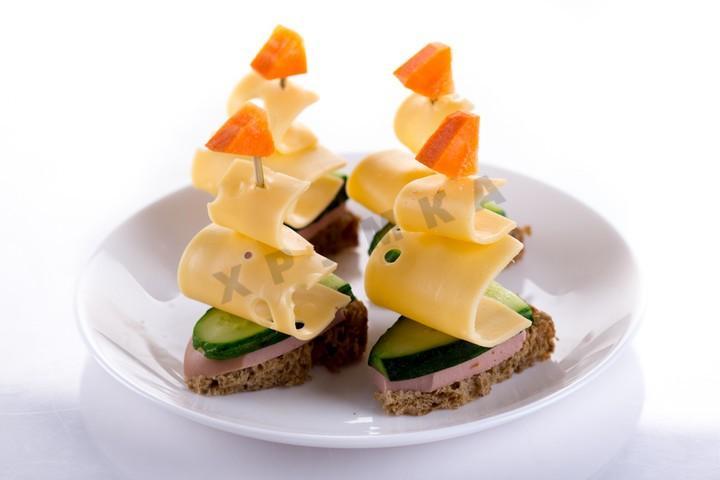 канапе с фруктами на шпажках рецепты с фото