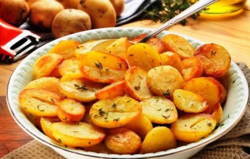 Картошка «Чесночок»
