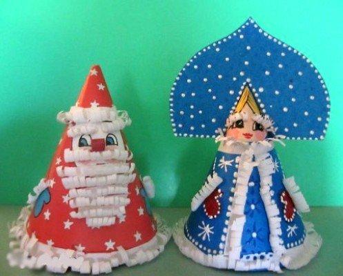 Деда Мороза и Снегурочки