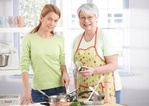 усердные домохозяйки и любящие бабушки
