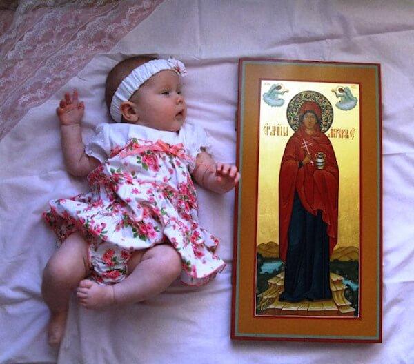 дарить иконы на рождение ребенка