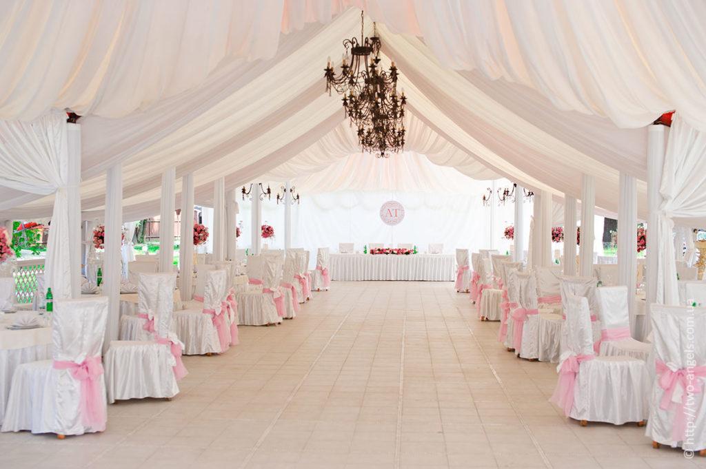 Особенности празднования свадьбы в шатре