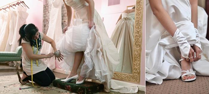 Туфли к свадебному платью Когда идти на примерку