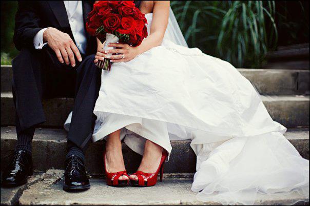 Туфли к свадебному платью