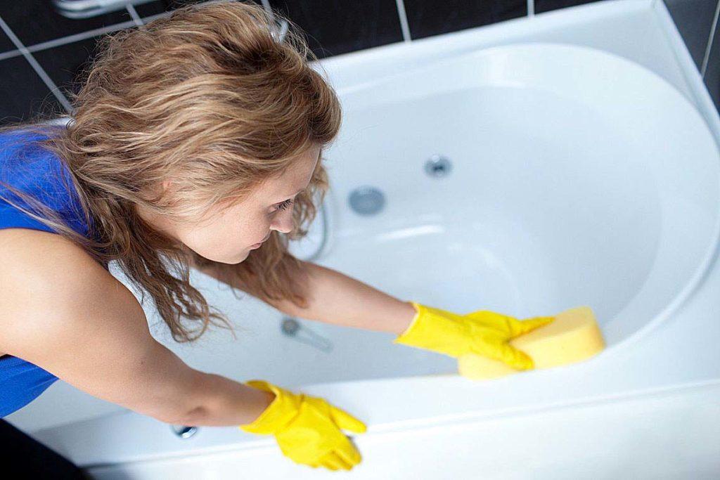 Уборка ванной