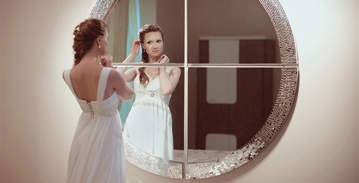 Свадебные приметы платье