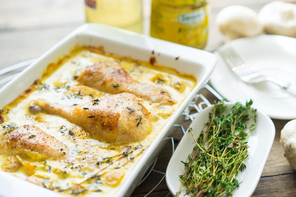 Горчично-сливочный соус