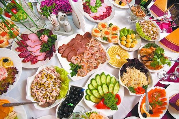 Закуски на праздничный стол: рецепты с фото, на день рождения, простые, вкусные