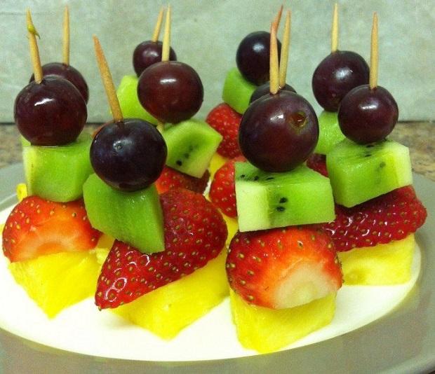 Подаем фрукты красиво
