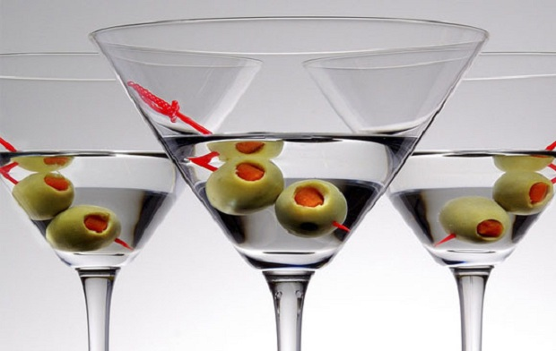 Из чего пить мартини