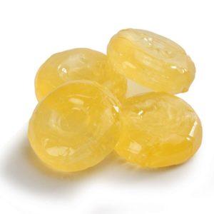 Лимонные леденцы в формочках