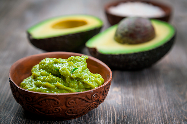 Гуакамоле с авокадо и грушей