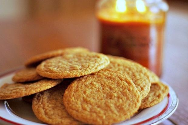 Песочное печенье с кленовым сиропом