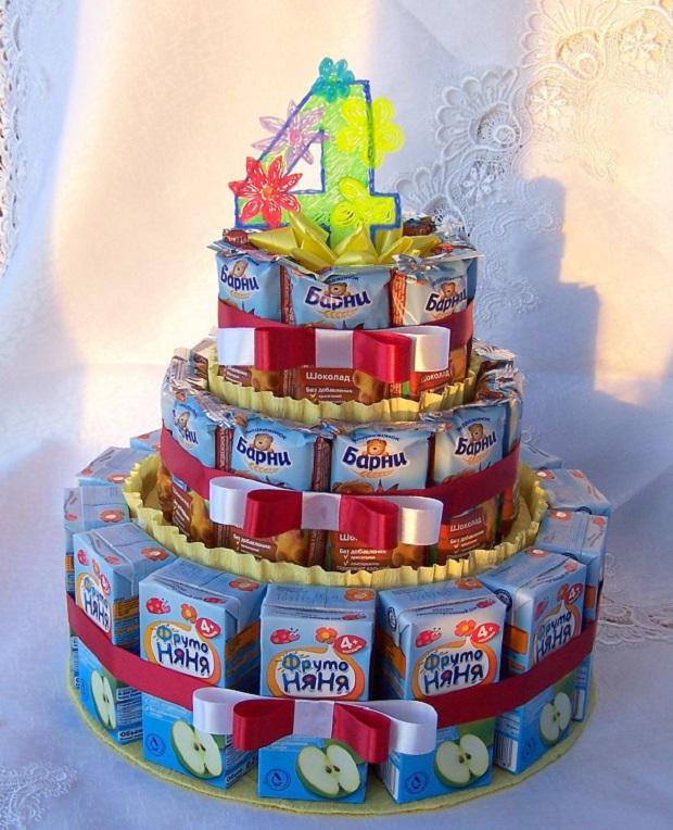 Тортик из сока
