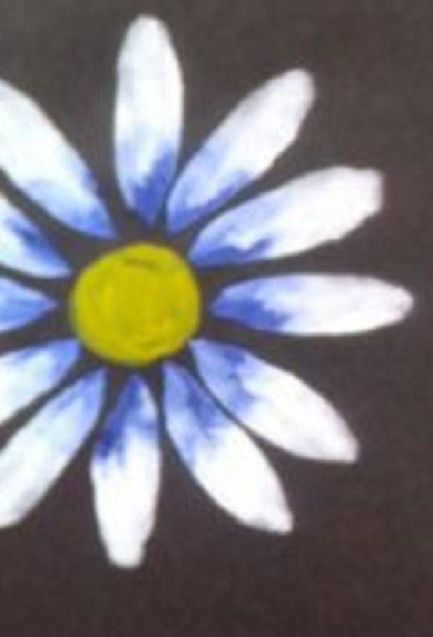 синий оттенок