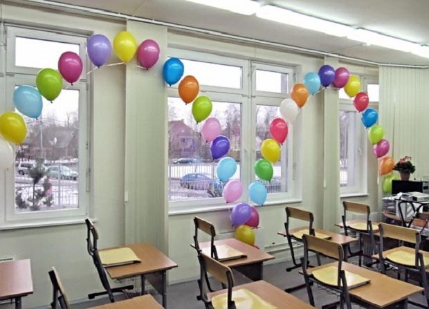 Украшаем класс ко Дню учителя