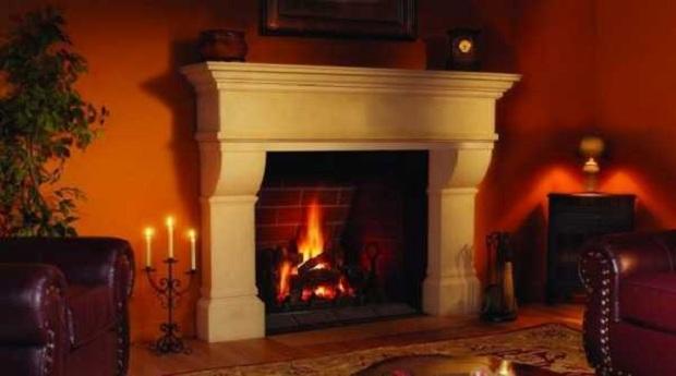 уют и тепло, создаваемое камином