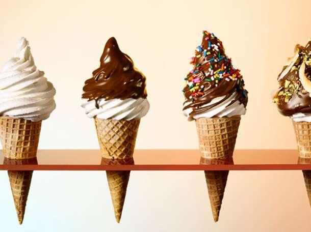 Мягкое мороженое из фризера